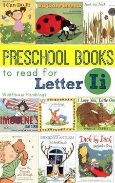 preschool books for letter i - Wildflower Ramblings
