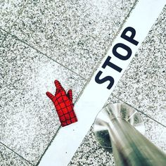 Someone lost a glove at the passport check... Wondering who that might be ... . . . #airport #outfit #outfits #instaphotography #instaphoto #spiderman #gloves #red #iphonephotography #random #candid #photography #prague #stop #holidayphotos #instamood #photo #photooftheday #marvel #funnyphoto #funnypic #smartphonephotography #streetphotography #lost #streetstyle #streetphoto #line #signs