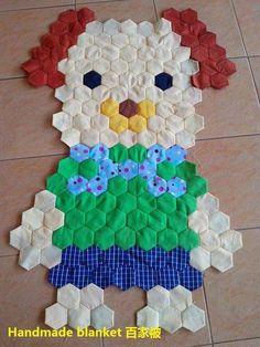 Hexagon Quilt Pattern, Hexagon Patchwork, Patchwork Patterns, Flower Patterns, Quilt Patterns, Quilting Templates, Quilting Designs, English Paper Piecing, Loom Weaving