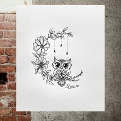 Owl Tattoo Design Ideas The Best Collection Top Rated Stylish Trendy Tattoo Designs Ideas For Girls Women Men Biggest New Tattoo Images Archive Name Tattoos, Body Art Tattoos, Small Tattoos, Cool Tattoos, Awesome Tattoos, Tatoos, Sleeve Tattoos, Incredible Tattoos, Beautiful Tattoos
