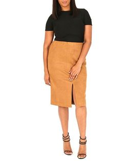 Slit Pencil Skirt   Samya HOF