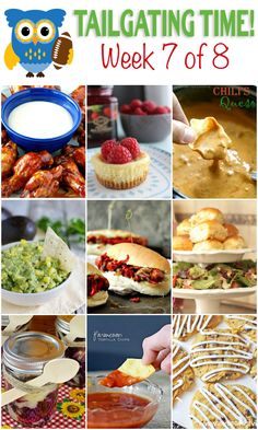 Easy menu for a football party! FULL of delicious food ideas! If you love tailgating then you're in the right place. Tailgating Food Ideas Week 7 {of 8} is here to make your game time delicious with amazing recipes! on kleinworthco.com