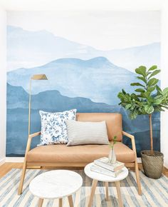 Photo Wall Layout, Counselling Room, Counseling Office Decor, Office Wall Decor, Office Mural, Office Lobby, Go Wallpaper, Friends Wallpaper, Mountain Mural
