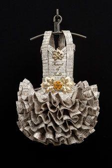 paper dress...amazing!