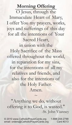 My friend, Jill, quoted this prayer to me when I was having a rough day, and I love St. John Vianney.