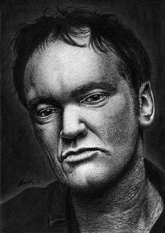 Portrait - Tarantino by Marcos Jorge Rodrigues