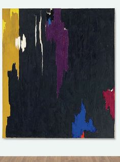 Still, Clyfford-PH-1, 1953, oil on canvas, 200x174cm, 1953