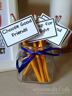 Talk about goals/values for the upcoming school year with this Back to School dinner.