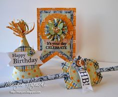 SCRAPS of (my) Life: Scrapbook Adhesives by 3L: Happy Birthday Ensemble...