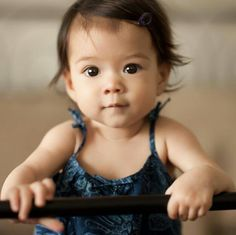Beautiful Asian baby :)
