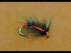 Tying a Bibio Snatcher Variation ( Wet Fly ) by Mak - YouTube