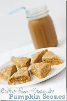 pumpkin scones from starbucks recipe