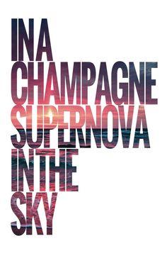 Image result for champagne supernova