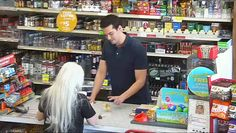 The Magic Clerk ~ Magician Michael Carbonaro, a magic clerk at a convenience store - with hidden cameras placed by the Jay Leno Show. Cute, must see!