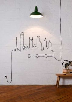 27 Easy DIY Ways To Make Your Walls Look Uniquely Amazinghttp://www.woohome.com/interiors/27-easy-diy-ways-to-make-your-walls-look-uniquely-amazing