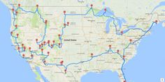 His plan hits all 47 parks in the contiguous U.S.
