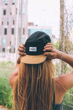 There's a hat similar to this one at Anthem coffee and tea in downtown Puyallup. It has a black bill and a brown rectangle of leather with the Anthem logo on it. This is like.. number one on my wishlist.
