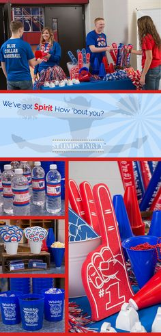 We've got spirit, how 'bout you?! Shop all of our school spirit supplies to make sure you're game day ready!