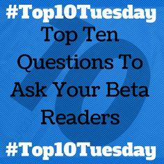 Beta readers are the best! They are an author's second readers. I'm guessing, and don't hold me to it, that the alpha reader is the author himself. God knows YOU'VE read you…