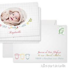 4be31302677 Fantaisie - faire-part Faire-part de naissance -   Faire-part de Famille  vente Fantaisie