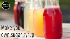 Sugar (or simple) Syrup is as its name implies, its very easy to make and is an essential item for your home bar. Here's how to make...