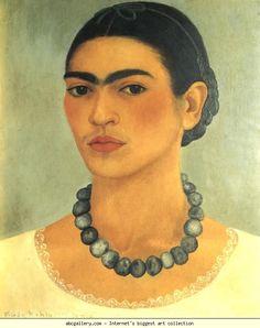 Frida Kahlo. Self-Portrait. 1933
