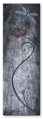 All My Walls Dragonfly Assembly Metal Wall Sculpture - MAD00101