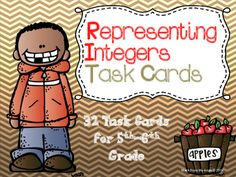 This is a set of 32 task cards for 5th & 6th grade students.  These cards…