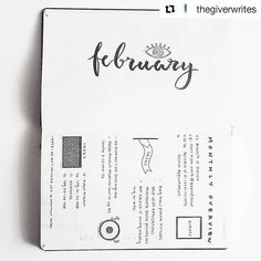 #Repost @thegiverwrites with @repostapp ・・・ February monthly overview. This allows me to note down any events, appointments, tasks and mini targets for the month, along with an index which did not turn out the way I expected it to.  But well, planning is a never-ending process of learning and experimenting to figure out what works and what doesn't. I have included side notes for my future reference in my planner itself.  On an unrelated note, morning was v unproductive :( need to buck up and…