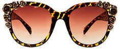 Cat Eye *MKL Accessories The Floral Sunglasses in Tortorise on shopstyle.com
