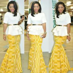 Weekend Special: Step Up Your Style Game in these Trendy & Timeless Ankara Styles - Wedding Digest NaijaWedding Digest Naija African Dresses For Women, African Print Dresses, African Fashion Dresses, African Attire, African Wear, African Women, Fashion Outfits, African Prints, Ankara Fashion