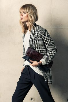 Covered Up – German beauty Julia Stegner is the latest top model to appear in a Mango catalogue. The blonde beauty poses for the Spanish label's winter 2013 edition in stylish designs inspired by menswear style. With not a skirt or dress in sight, Julia exudes pure elegance in tapered trousers, plaid shirts and boxy...[Read More]