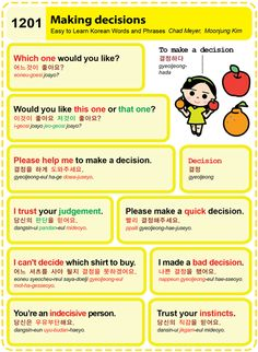 (1201) Making decisions