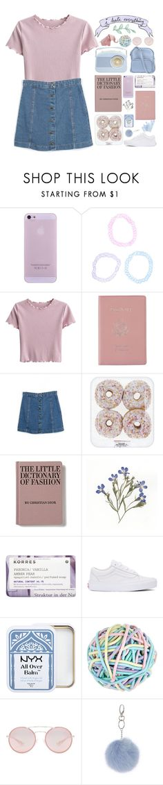 """I need someone to rewatch The Office with me"" by galactictraveler ❤ liked on Polyvore featuring Royce Leather, Korres, Vans, Accessorize, Prada, Miss Selfridge, Jil Sander Navy and pastel"