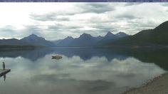 Glacier National Park - Lake McDonald Webcam View