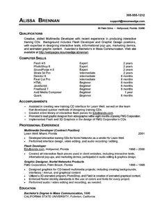 Resume Sample First Job   Sample Resumes   Sample Resumes ...