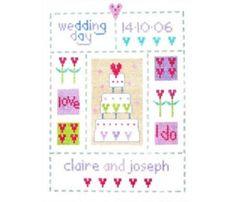 Wedding Sampler - Cross Stitch Kit
