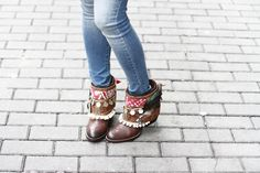 Mi armario en ruinas wear layerboots / Tribal Layer /streetstyle / blogger outfit / boho boots / Layerboots