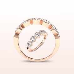 GIORDANA Alliance or rose. #Zeinaalliances #alliances #or #mariage #ring Alliance Or Rose, Wedding Rings, Engagement Rings, Jewelry, Engagement Ring, Jewerly, Enagement Rings, Jewlery, Schmuck