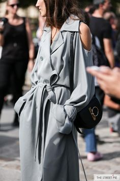 Outside Nina Ricci / Paris Fashion Week SS18