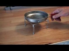 THE BEST Backpacker's Pot Stand - YouTube