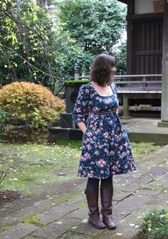Awesome version of the washi dress, click through to her blog for details