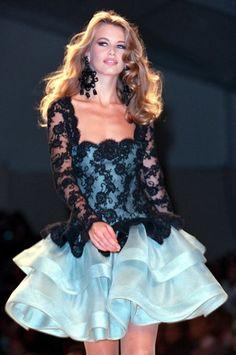 www.fashion2dream.com  Fashion shows fashion weeks Oscar de la Renta