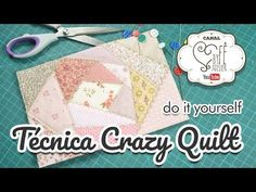 Patchwork Ao Vivo #11: aproveitamento de retalhos com Stack and Slash e Crazy Quilt - YouTube