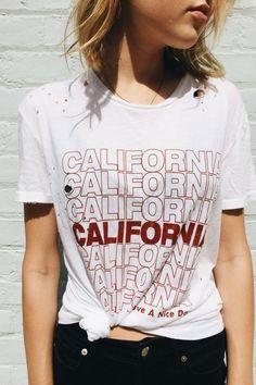 Brandy ♥ Melville   Violet California Top - Graphics
