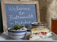 Buttermilk Kitchen (Sandy Springs) A little expensive, but really nice vibes and really good food