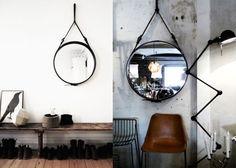 Zwarte Ronde Spiegel : Beste afbeeldingen van ronde spiegels decorative mirrors diy