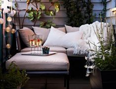 5 DIY tips for a glam balcony on a low budget - Inredningsvis