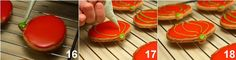 Recipe Glazed biscuits in the shape of a pumpkin - The Yellow Zafferano recipe Shaped Cookies Recipe, A Pumpkin, Halloween, Cookie Recipes, Glaze, Biscuits, Shapes, Desserts, Shape