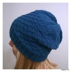 Megetar: Pipo tilkkutyösilmukalla + ohje Knitted Hats, Winter Hats, Knitting, Crafts, Beanies, Fitness, Fashion, Moda, Manualidades